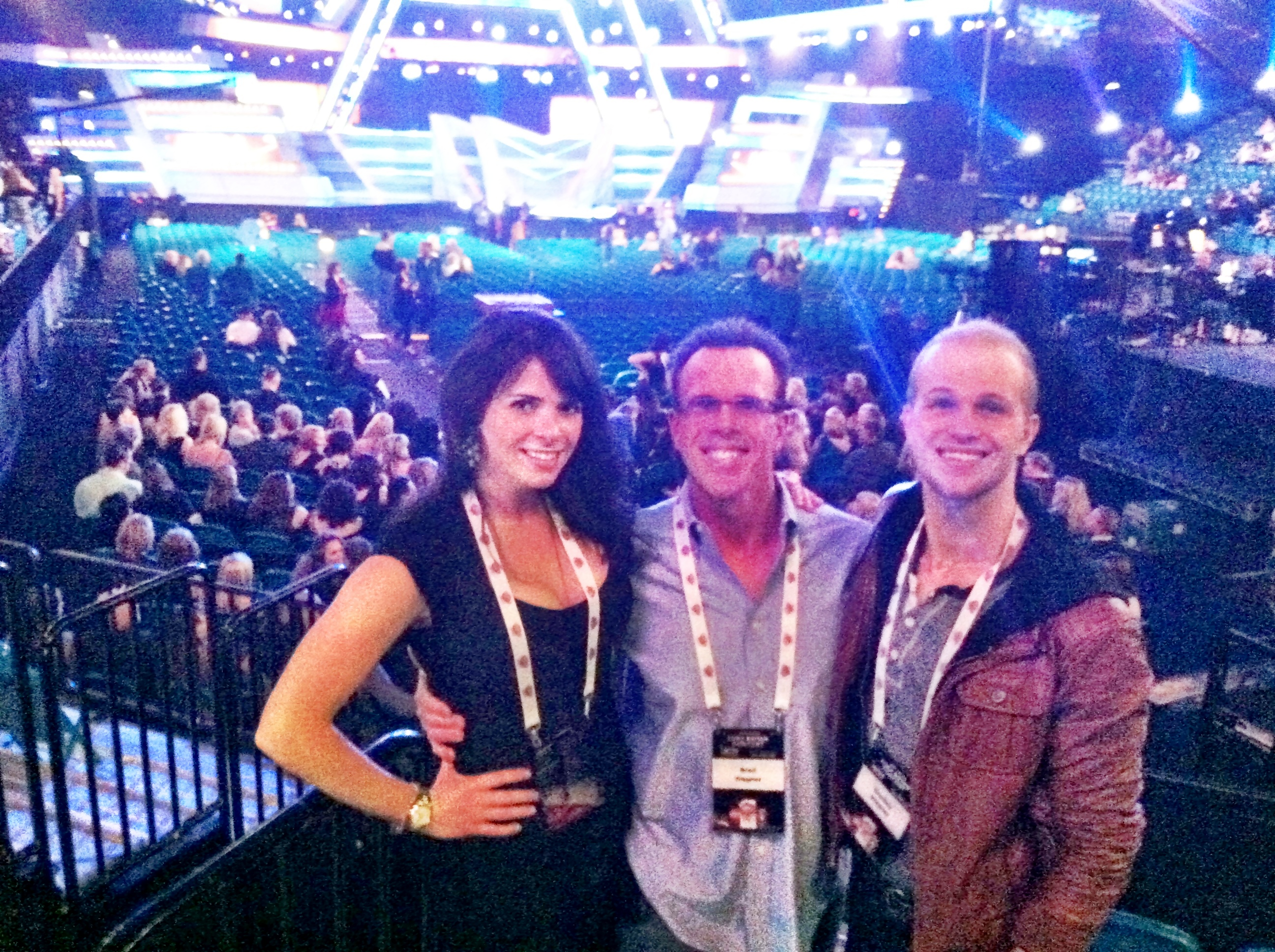 Live from the ACM's!