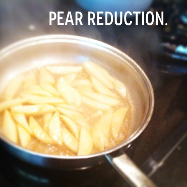 pear reduction