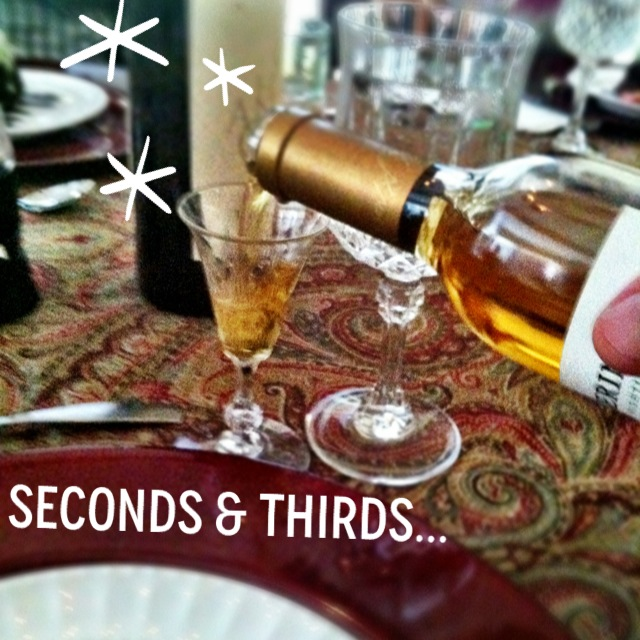 seconds and thirds