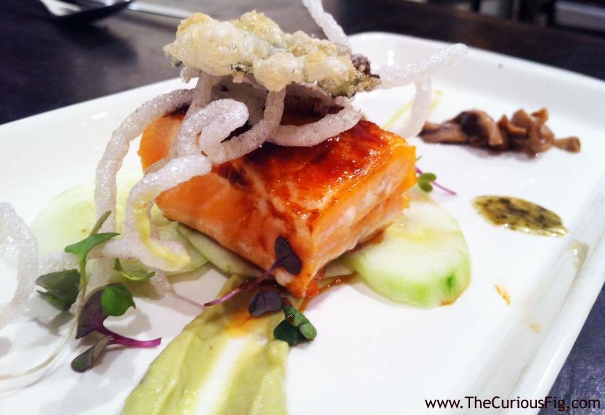 Asian-inspired salmon