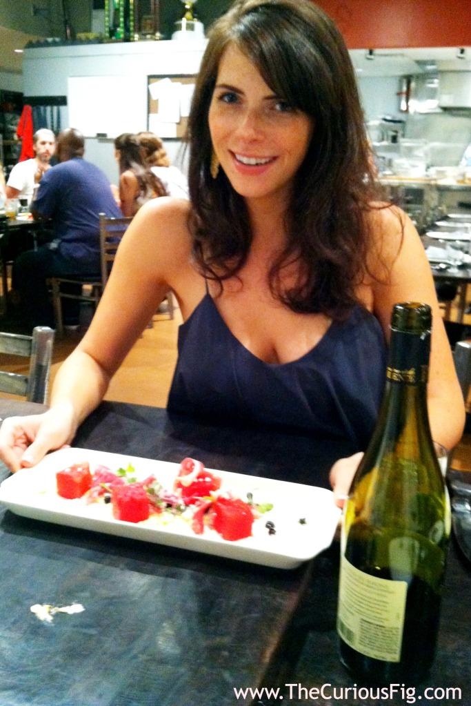 Watermelon & Proscuitto Salad