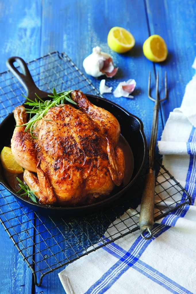 Skillet Roast Chicken